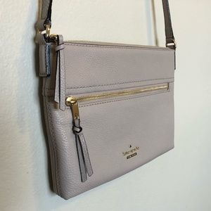 NWOT • Kate Spade • Gabriele • Bone Grey Crossbody